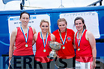 Valentia Senior ladies at Templenoe regatta on Sunday. L-R: Kate Griffin, Chloe, Amy and Ciara Lyne.