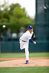 Kenta Maeda (Dodgers),<br /> MARCH 5, 2016 - MLB :<br /> Kenta Maeda of the Los Angeles Dodgers pitches during a spring training baseball game against the Arizona Diamondbacks at Camelback Ranch-Glendale in Phoenix, Arizona, United States. (Photo by Thomas Anderson/AFLO) (JAPANESE NEWSPAPER OUT)