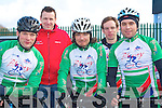 TEAM BLARNEY: The Blarney cycling team taking part in the Lacey Cycling Cup race on Sunday l-r: Colin O'Neill, Owen Sheehan, John and Brian Horgan and Dave O'Neill.
