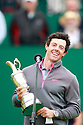 Rory McILROY (IRE) making his winners speech during the presentation ceremony of the 143rd Open Championship played at Royal Liverpool Golf Club, Hoylake, Wirral, England. 17 - 20 July 2014 (Picture Credit / Phil Inglis)