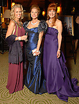 Honorees Elizabeth Petersen, Cindi Rose and Gracie Cavnar at the Winter Ball held at the Hilton Americas Houston Saturday Jan. 10, 2009.(Dave Rossman/For the Chronicle)