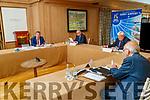 Basil Sheerin, CFO, John Mulhern CEO, Denis Creegan Chairman and John O'Sullivan Secretary at the Kerry Airport at the AGM in the Ballygarry house hotel on Monday