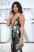 "Lucy Mecklenburgh<br /> at the ""Fifty Shades Darker"" premiere, Odeon Leicester Square, London.<br /> <br /> <br /> ©Ash Knotek  D3223  09/02/2017"