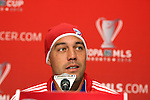 19 November 2010: Daniel Hernandez. FC Dallas held a practice at Toronto, Ontario, Canada as part of their preparations for MLS Cup 2010, Major League Soccer's championship game.
