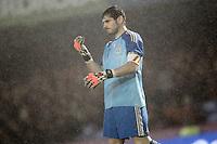 Spain's Iker Casillas during international friendly match.November 18,2014. (ALTERPHOTOS/Acero) /NortePhoto<br /> NortePhoto.com