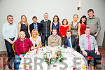 Enjoying the Born to Run Christmas Party at the Ashe Hotel on Friday were l-r  Billy Lyons, Mary Bowler, Jim McNeese, Marcus Howlett and James Stack. Back l-r  Conor Cusack, Sandra Byrne, Tommy Horan, Stephen Byrne, Bridget Moore, Lucy Fitzell, Catherine Costello, Loretta O'Sullivan and Terry O'Sullivan.