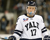 Andrew Miller (Yale - 17) - The Yale University Bulldogs defeated the Air Force Academy Falcons 2-1 (OT) in their East Regional Semi-Final matchup on Friday, March 25, 2011, at Webster Bank Arena at Harbor Yard in Bridgeport, Connecticut.