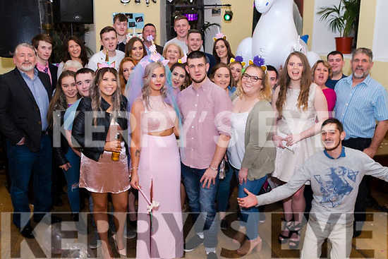 Nikki Reidy surrounded by Family & Friends in Sol y Sombra, Killorglin on Saturday night  celebrating her 21st Birthday.