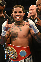 Gervonta Davis defeats Liam Walsh during a Boxing Show at the Copper Box Arena on 20th May 2017