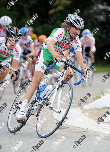 2011-07-10 / Vielrennen / seizoen 2011 / PK Aspiranten /  Tim Mertens..Foto: mpics