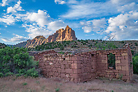 Ruins of McPherson Ranch, Desolation Canyon, Utah Green River