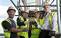 ***FREE PHOTO FOR EDITORIAL USE***<br /> <br /> 09/06/15<br /> <br /> L/R: Akil Sylia, Sebastian Iwaniuk, Lesley Blackman and<br /> Jamie Prior... <br /> <br /> Lotto jackpot winner, Lesley Blackman, joins builders in Southampton to celebrate the building trade being declared the country&rsquo;s luckiest profession, according to The National Lottery&rsquo;s top secret winners database.<br />  <br /> All Rights Reserved: F Stop Press Ltd. +44(0)1335 418629   www.fstoppress.com.