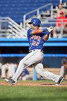 August 7 2008:  Karim Turkamani of the Auburn Doubledays, Class-A affiliate of the Toronto Blue Jays, during a game at Dwyer Stadium in Batavia, NY.  Photo by:  Mike Janes/Four Seam Images