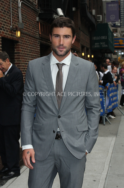 WWW.ACEPIXS.COM . . . . . ....September 28 2009, New York City....Brody Jenner made an appearance at the 'Late Show with David Letterman' on September 28 2009 in New York City....Please byline: AJ SOKALNER - ACEPIXS.COM.. . . . . . ..Ace Pictures, Inc:  ..(212) 243-8787 or (646) 679 0430..e-mail: picturedesk@acepixs.com..web: http://www.acepixs.com