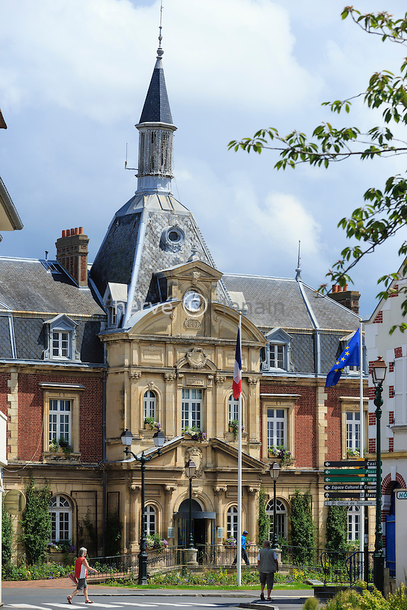 France, Calvados (14), Cabourg, la mairie // France, Calvados, Cabourg, the City Hall
