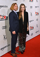 LOS ANGELES, CA. October 24, 2018: Lou Taylor Pucci &amp; Camille Kane at the Los Angeles premiere for &quot;Suspiria&quot; at the Cinerama Dome.<br /> Picture: Paul Smith/Featureflash