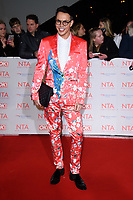 Bobby Norris at the National Television Awards 2018 at the O2 Arena, Greenwich, London, UK. <br /> 23 January  2018<br /> Picture: Steve Vas/Featureflash/SilverHub 0208 004 5359 sales@silverhubmedia.com
