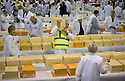 28/07/15<br /> <br /> Judges search for the winning cheese among 4592 entries at the International Cheese Awards, at the Nantwich Show in Cheshire today.<br /> <br /> <br /> All Rights Reserved - F Stop Press.  www.fstoppress.com. Tel: +44 (0)1335 418629 +44(0)7765 242650