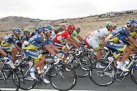 Alberto Contador (c) during the stage of La Vuelta 2012 beetwen Penafiel-La Lastrilla.September 7,2012. (ALTERPHOTOS/Paola Otero) /NortePhoto.com<br /> <br /> **CREDITO*OBLIGATORIO** *No*Venta*A*Terceros*<br /> *No*Sale*So*third* ***No*Se*Permite*Hacer Archivo***No*Sale*So*third