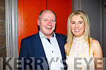 Anniversary<br /> ----------------<br /> Tralee couple Ciaran&amp;Elaine Hennebery were spotted out in No 4 the Square, Tralee on Saturday night last celebrating their 22nd wedding anniversary.