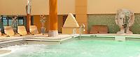 Aqua therapy pool on a cruise ship.