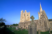 Ruins of St Marys Abbey, Duleek, Ireland One of the oldest Churches, 1182