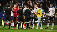 Players and officials shake hands at the end of the match<br /> <br /> Photographer Andrew Kearns/CameraSport<br /> <br /> The EFL Sky Bet Championship - Bolton Wanderers v Rotherham United - Wednesday 26th December 2018 - University of Bolton Stadium - Bolton<br /> <br /> World Copyright &copy; 2018 CameraSport. All rights reserved. 43 Linden Ave. Countesthorpe. Leicester. England. LE8 5PG - Tel: +44 (0) 116 277 4147 - admin@camerasport.com - www.camerasport.com