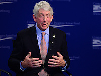 """Washington, DC - February 27, 2017: Virginia Attorney General Mark Herring speaks during the """"States Defending Progress forum at the Center for American Progress February 27, 2017.  (Photo by Don Baxter/Media Images International)"""