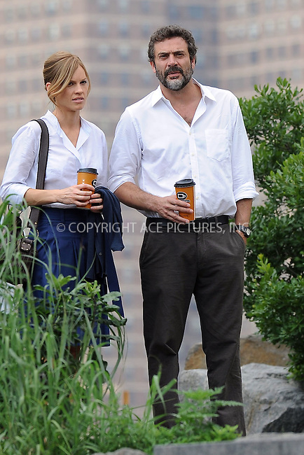 """WWW.ACEPIXS.COM . . . . . ....July 1 2009, New York City....Actors Jeffrey Dean Morgan and Hilary Swank on the set of the new movie """"The Resident"""" in Brooklyn on July 1 2009 in New York City....Please byline: KRISTIN CALLAHAN - ACEPIXS.COM.. . . . . . ..Ace Pictures, Inc:  ..tel: (212) 243 8787 or (646) 769 0430..e-mail: info@acepixs.com..web: http://www.acepixs.com"""