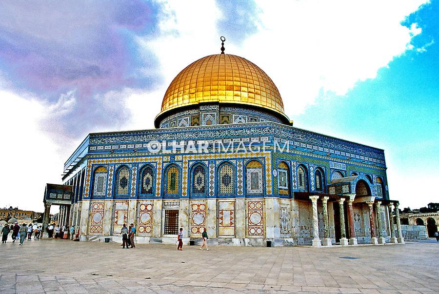 Mesquita de Omar em Jerusalém. Israel. 1995. Foto de João Caldas.