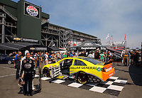 Jul. 26, 2013; Sonoma, CA, USA: NHRA overall view of Toyota Pit Pass display during qualifying for the Sonoma Nationals at Sonoma Raceway? Mandatory Credit: Mark J. Rebilas-