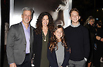 WESTWOOD, CA - NOVEMBER 23: Editor William Goldenberg (L) and family attend the screening of Columbia Pictures' 'Concussion' at the Regency Village Theater on November 23, 2015 in Westwood, California.
