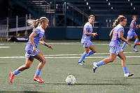 Rochester, NY - Friday July 01, 2016: Chicago Red Stars midfielder Alyssa Mautz (4) during a regular season National Women's Soccer League (NWSL) match between the Western New York Flash and the Chicago Red Stars at Rochester Rhinos Stadium.