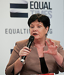 Berlin-Germany - May 18, 2014 -- International Trade Union Confederation - 3rd ITUC World Congress 'Building Workers' Power'; here, Sharan Burrow, ITUC-General Secretary  -- Photo: © HorstWagner.eu / ITUC