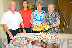 Ballylongford Oyster Festival : Pictured at the Seafood Buffet held in the Ballylongford Community centre on Saturday night last during the Oyster festival were Noel Lynch, Marie Hanrahan O'Neill, Mary Burke & Mary Moroney.