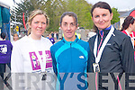 The first three women to complete the  10km Jack and Jill in Kenmare. .L-R Joan O'Sullivan, Maureen Harrington and Lydia O'Shea.