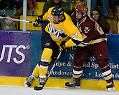Adam Ross (Merrimack - 26), Matt Price (BC - 25) - The Merrimack College Warriors defeated the Boston College Eagles 5-3 on Sunday, November 1, 2009, at Lawler Arena in North Andover, Massachusetts splitting the weekend series.