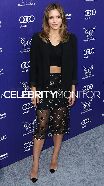 BRENTWOOD, LOS ANGELES, CA, USA - JUNE 07: Katharine McPhee at the 13th Annual Chrysalis Butterfly Ball held at Brentwood County Estates on June 7, 2014 in Brentwood, Los Angeles, California, United States. (Photo by Xavier Collin/Celebrity Monitor)