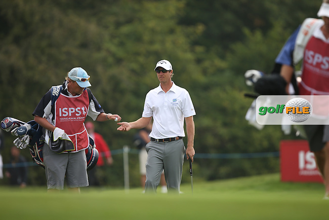 Nicolas Colsaerts (BEL) during Round Three of the ISPS Handa Wales Open 2014 from the Celtic Manor Resort, Newport, South Wales. Picture:  David Lloyd / www.golffile.ie