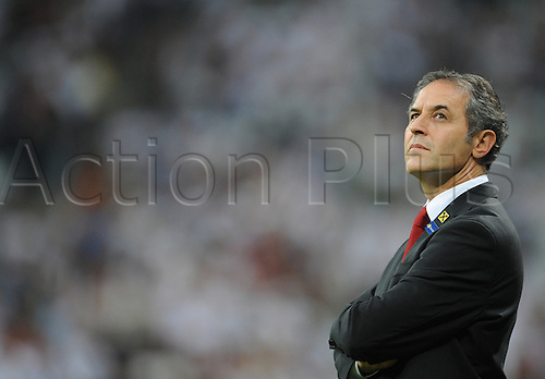 06.09.2013. Allianz Arena, Munich, Germany.  Head coach Marcel Koller of Austria prior to the FIFA World Cup 2014 qualification group C soccer match between Germany and Austria .