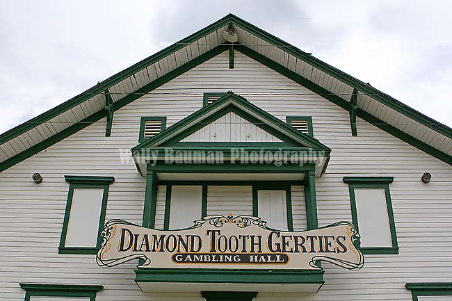 Dawson City 2010,THE YUKON TERRITORY, CANADA, Diamond Tooth Gerties.