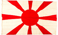 Japanese flag that flew on the warship that masterminded the attack on Pearl Harbour