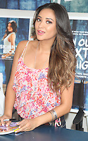 "NEW YORK CITY, NY-July 24 2012: Shay Mitchell at the American Eagle Outfitters ""Live Your Life"" Campaign Launch at American Eagle Times Square Store in New York City. © RW/MediaPunch Inc. /NortePhoto.com<br />