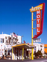 Aztec Motel on old Route 66 in Albuquerque, NM