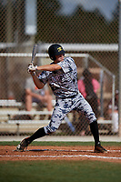 Jax Cash during the WWBA World Championship at the Roger Dean Complex on October 20, 2018 in Jupiter, Florida.  Jax Cash is a catcher from Spartanburg, South Carolina who attends IMG Academy and is committed to South Carolina.  (Mike Janes/Four Seam Images)