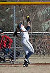 March 23, 2012:   Nevada Wolf Pack left fielder Chelsea Barilli makes the catch against the Fresno State Bulldogs during their NCAA softball game played at Christina M. Hixson Softball Park on Friday in Reno, Nevada.