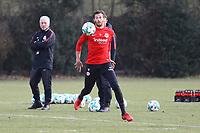 David Abraham (Eintracht Frankfurt) - 06.03.2018: Eintracht Frankfurt Training, Commerzbank Arena