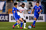 Rhayner of Kawasaki Frontale (JPN) fights for the ball with Tse Man Wing of Eastern SC (HKG) during the AFC Champions League 2017 Group G match between Eastern SC (HKG) and Kawasaki Frontale (JPN) at the Mongkok Stadium on 01 March 2017 in Hong Kong, China. Photo by Chris Wong / Power Sport Images