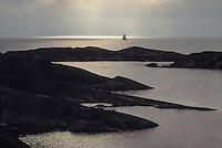Segelbåt på en fjärd i Stockholms ytterskärgård utanför Stora-Nassa./  Stockholm archipelago Sweden