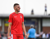 20190717 - LICHTERVELDE , BELGIUM : Mouscron's Dimitri Mohamed pictured during a friendly game between KSV Roeselare and Royal Excelsior Mouscron Moeskroen during the preparations for the 2019-2020 season , Wednesday 17 July 2019 ,  PHOTO DAVID CATRY | SPORTPIX.BE